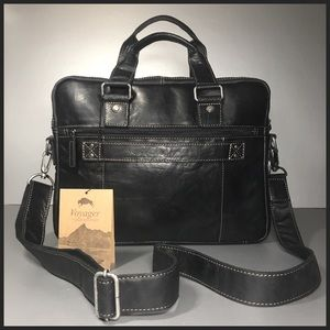 Jack Georges Voyager Collection Double Gusset Bag